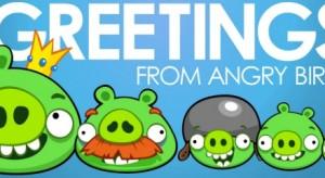 A csapból is az Angry Birds folyik…