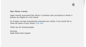 Visszatéríti a bumperek árát az Apple