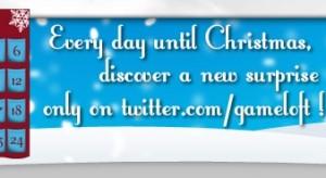 A Gameloft is elindította a saját Adventi Twitter naptárját!