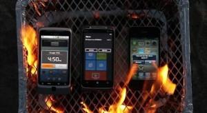 A Windows Phone 7 legyőzte az iPhone és az Android készüléket – legalábbis grillsütésben…