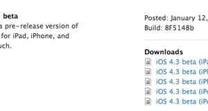 Jön az iOS 4.3 újdonságok tömkelegével