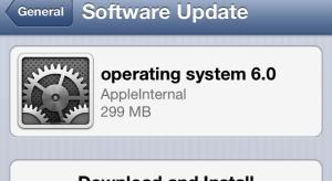 Az Apple kiadta az iOS 6 második bétáját
