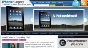 Az iPad böngészője a Safari, de vajon jó ez nekünk?