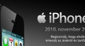 A Vodafone bejelentette a hivatalos iPhone 4 forgalmazási dátumot!