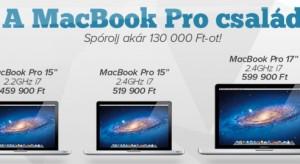 Óriási MacBook Pro akció az iSTYLE kínálatában