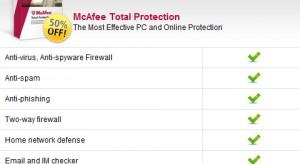 McAfee Total Protection az Apple mobil készülékein