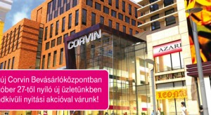 A Corvin Bevásárlóközpontban lehet iPhone 4