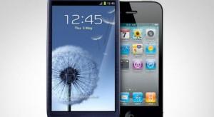 2013-ra az eladott okostelefonok 53%-a Apple vagy Samsung készülék lesz