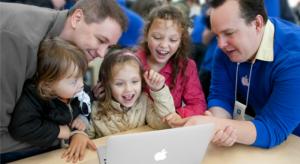 Az olimpia ideje alatt az Apple a géniuszait sztárolja