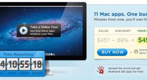 MacBundle – Óriási akció, 11 Mac program mindösszesen 49,99$-ért, Parallels 7, ScreenFlow 3, Civilization V., stb.