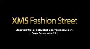 Új XMS bolt nyílt a Fashion Streeten