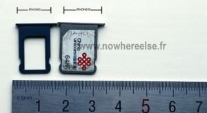 Nano sim kártya lesz az új iPhone készülékben