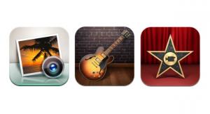 Az Apple frissítette az iPhoto, GarageBand és iMovie appokat is