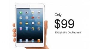 Novemberben érkezik a gagyi, de nagyon olcsó iPad Mini klón