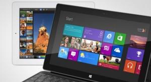 Microsoft: A Surface kijelzője jobb, mint az iPad Retina megjelenítője
