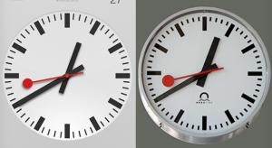 Megállapodást kötött az Apple a svájci vasutakkal az iOS 6 óra ikonjának ügyében