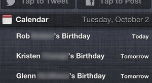 A Facebook átka: a születésnapok tönkreteszik a naptárat