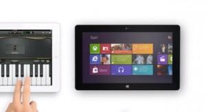 Kiparodizálták az iPad mini reklámot egy Surface-szel