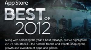 Ezek lettek a legjobb iOS alkalmazások 2012-ben