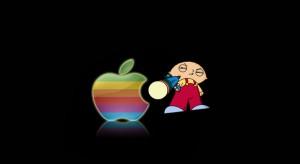 A Family Guy-ban is felcsendül az Apple reklámzenéje