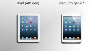 Tavasszal érkezhet a minire hasonlító iPad 5 modell
