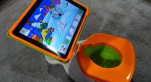 iPotty – Itt a tábla toilet, ahol az iPad a bili füle