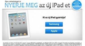 Nincs ingyen iPad, ne dőljetek be a csalóknak