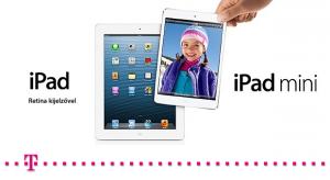 Bővíti a Telekom az iPad minit értékesítő üzletei körét