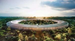 Eléggé csúszik az Apple új épületének átadása
