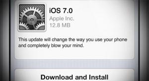 Az Apple is tudja: magasak az elvárások az iOS-7-nél