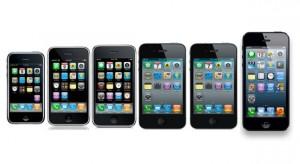 Itt az egész iPhone evolúció – 6 év, 6 iPhone