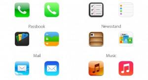 iOS 6 vs. iOS 7 ikonok: ilyenek voltak, ilyenek lettek