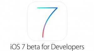 iPad támogatással végre megérkezett az iOS 7 béta 2-es szoftver