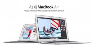 Megérkeztek és már rendelhetőek az új MacBook Air számítógépek!