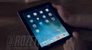 Ez lehet az első videó az iPad-en futó iOS 7-ről