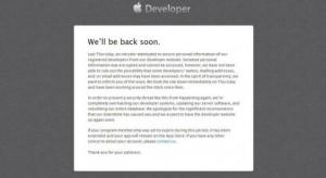 Betörtek az Apple fejlesztői oldalára – csúszhat az iOS 7!
