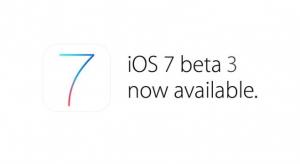 Megérkezett és elérhető az iOS 7 harmadik béta verziója