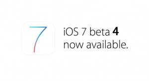 Tölthető az iOS 7 negyedik béta változata