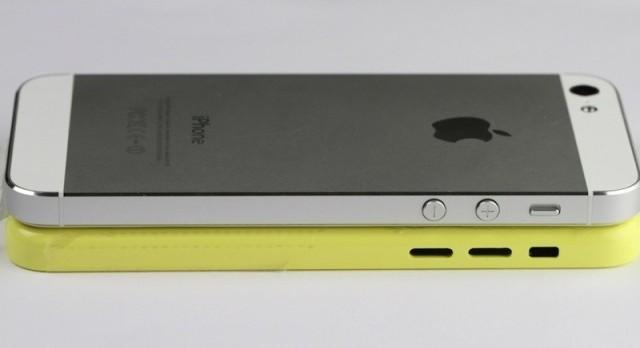 Újabb összehasonlító fotók az olcsó iPhone hátlapjáról