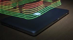 Videón a MacBook elektromágneses sugárzása