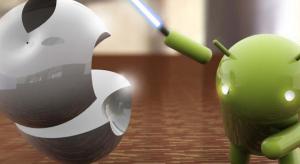A Google Play először nyomta le letöltésben az App Store-t