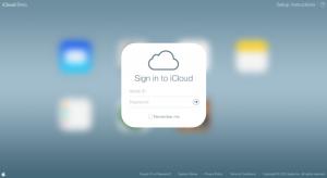 Megkapta a csilivili iOS 7-es ruháját a beta.iCloud.com