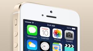 Ujjlenyomat-olvasó, A7 processzor, arany borítás: Itt az iPhone 5S!