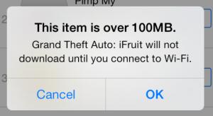 Az Apple megemelte a mobilhálózaton letölthető alkalmazások méretkorlátját