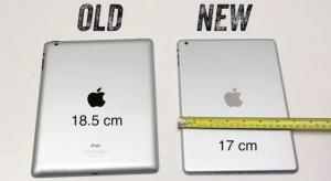 Összehasonlító videó érkezett az iPad 5 és iPad mini 2 borításáról
