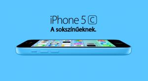 Hivatalos: Itt a színes, (nem nagyon) olcsóbb iPhone 5C