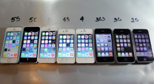A nagy gyorsaság teszt: iPhone generációk egymás mellett