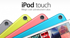 Az Apple csendben frissítette az iPod termékcsaládját is