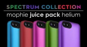 A Mophie kiadta a színes Spectrum nevű akkumulátor-védőtok kollekcióját