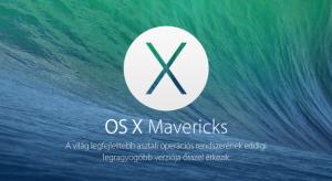 OS X Mavericks bemutató: Íme az újdonságok I. rész
